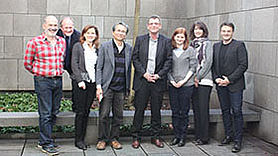 University of Alberta Representatives visit Munich