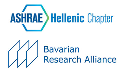 Logo ASHRAE and Bavarian Research Alliance