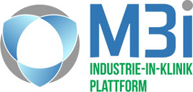 Logo M3i: Industrie-in-Klinik Plattform